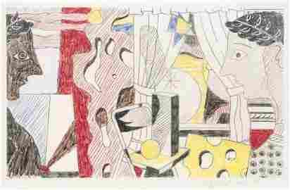 28: Roy Lichtenstein Study for Cosmology