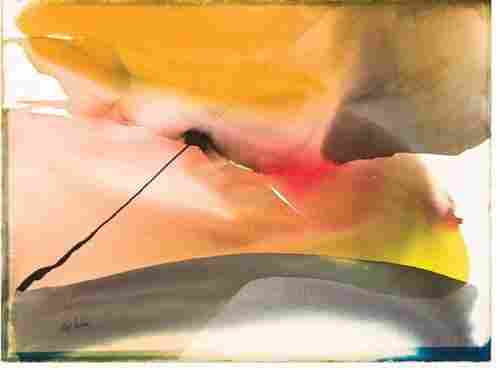 Paul Jenkins Abstract Composition