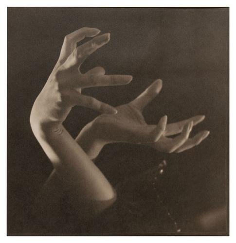 5: Rudolf Koppitz (1884-1936) Hand Studie, ca. 1920