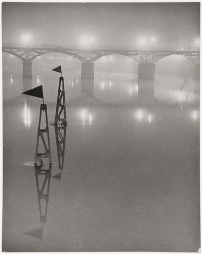 11: Brassaï (1899-1984) Le Pont des Arts, ca. 1932
