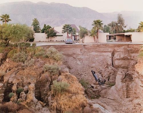 16: Joel Sternfeld (b. 1944) After a flash flood, Ranc