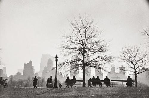 24: Ruth Orkin (1921-1985) Central Park South as seen