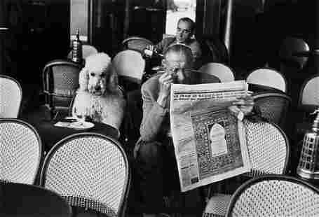 71: Edouard Boubat (1923-1999) Café Flor, 1953