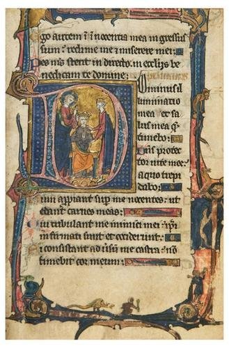 2: PSALTER, in Latin. [Northern France, likely Rouen