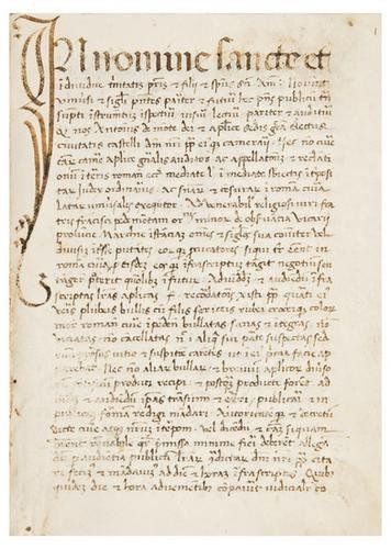 17: PAPAL DOCUMENTS ADDRESSED TO THE FRANCISCAN ORDER