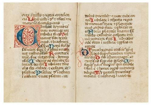 20: BREVIARY, in Latin. [Italy, 15th Century].