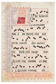 31 ANTIPHONAL in Latin Spain likely Toledo early