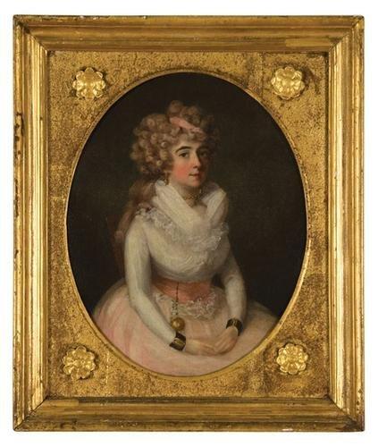 3: Francis Alleyne (active 1774-1790).  Portrait of o