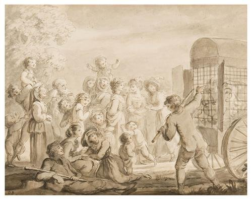 8: Lady Diana Beauclerk (1734 - 1808). The travelling