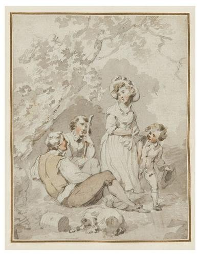10: Lady Diana Beauclerk (1734 - 1808). A group of thr