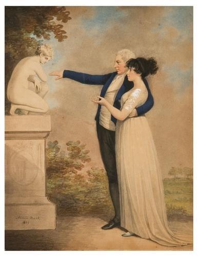 15: Adam Buck (1759 - 1833). A lady and gentleman look