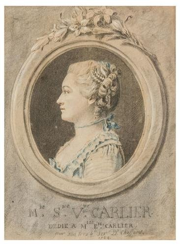 17: Pierre Phillipe Choffard (1730 - 1809). Portrait o