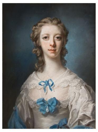 18: Francis Cotes (1726 - 1770). Portrait of the Hon.