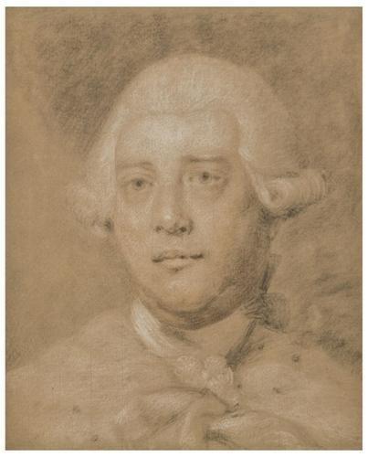 19: Francis Cotes (1726 - 1770). Portrait of His Majes