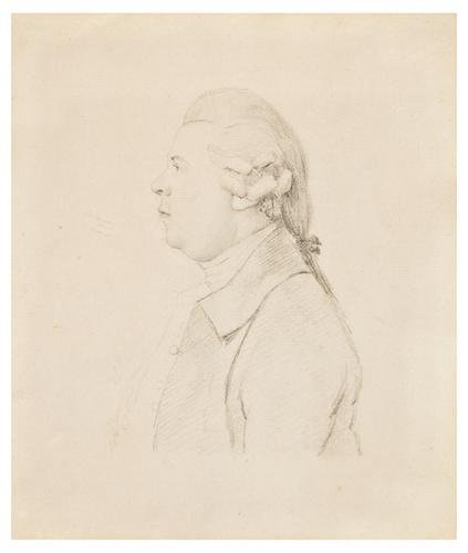 22: George Dance (1741 - 1825).  Portrait of Reverend