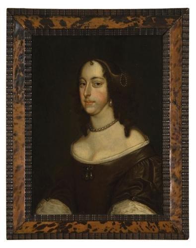 44: English School, 17th Century. Portrait of a lady.