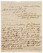 149: BOSWELL, James (1740-1795). Autograph letter signe