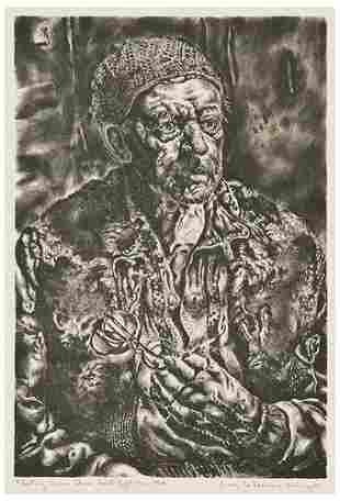 Ivan Albright Fleeting Time Thou Hast Left Me Old