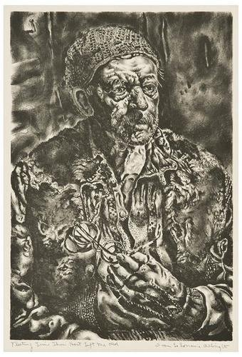 1: Ivan Albright Fleeting Time Thou Hast Left Me Old
