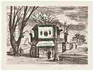 American Printmakers Three lithographs.