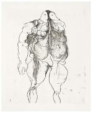 Leonard Baskin Drawings for the Iliad