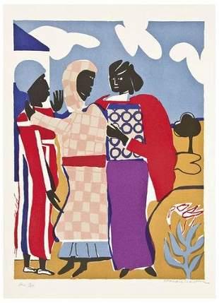 Romare Bearden Three Women (Easter Sunday) (G./R.1
