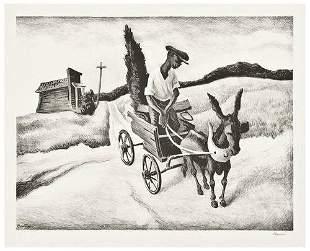 Thomas Hart Benton Lonesome Road (F.18)