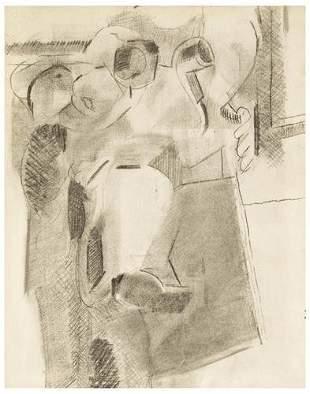 Robert BlackburnUntitled (Cubist Still Life with P