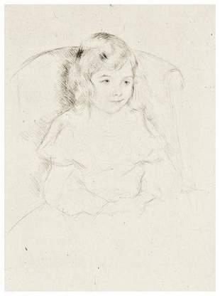 Mary Cassatt Sara Smiling (B.195)