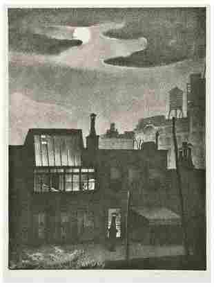 Mabel Dwight Night Work
