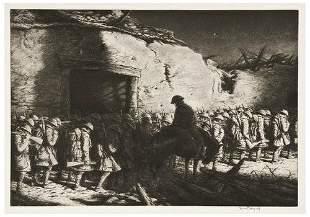 Kerr Eby (1889-1946) Three etchings.