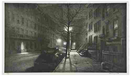 104: Stow Wengenroth (1906-1978) Quiet Hour