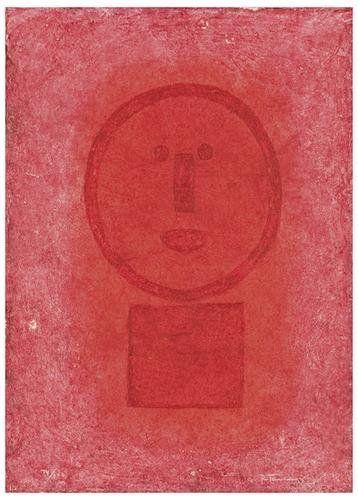 133: Rufino Tamayo Cara en Rojo