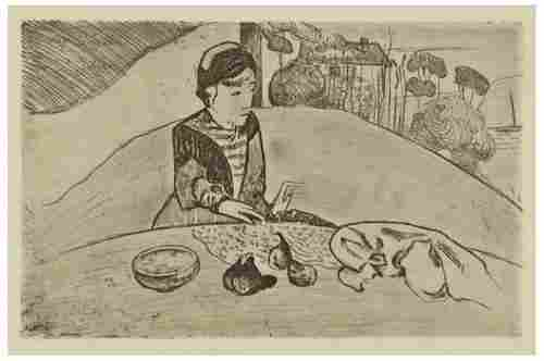 148: Paul Gauguin La Femme aux Figues (K.25)