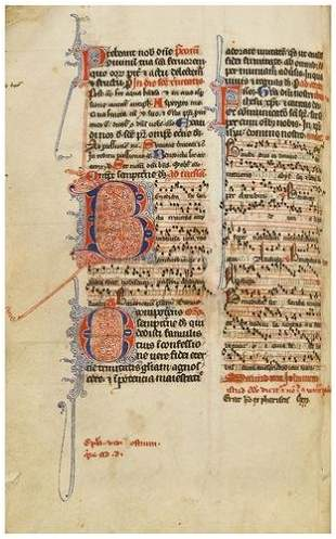 MISSAL, [English Use], in Latin. [Northern France