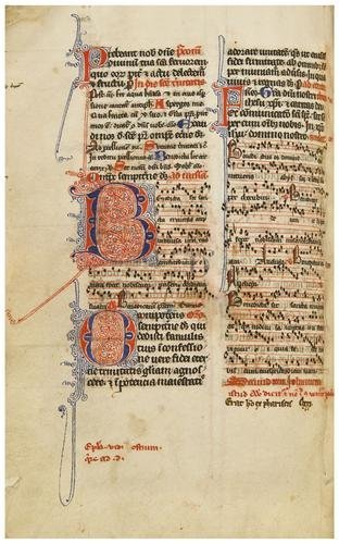 5: MISSAL, [English Use], in Latin. [Northern France