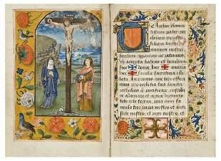 MISSALE ROMANUM, in Latin. [Flanders, c.1575-1600]