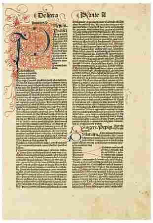 BALBUS, Johannes (d.1298). Der Catholicon.