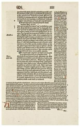 BONAVENTURA, Saint (1221-1274). Perlustratio in qu