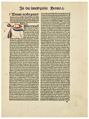 FERRERIUS, Vincentius [Saint Vincent Ferrer] (1350