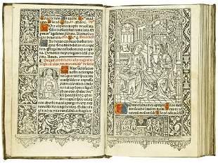 HORAE, in Latin. Sequutur septe hore canonice bte