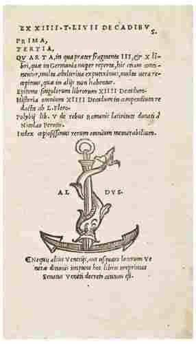 [ALDINE PRESS] -- LIVIUS, Titus. [Opera].