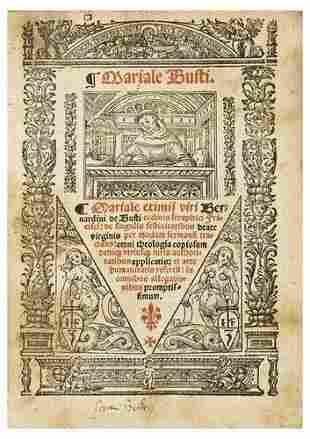 BUSTI, Bernardino de (c.1450-c.1513). Mariale exim