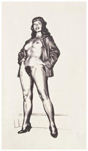 Tom poulton erotic drawings