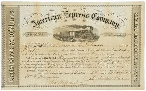 5: AMERICAN EXPRESS - BUTTERFIELD, John and William F