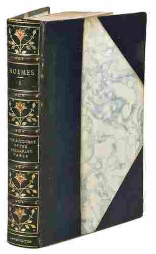 HOLMES, Oliver Wendell. The Writings of Oliver Wen