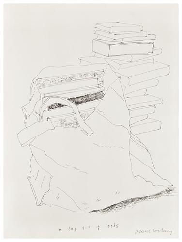 20: David HOCKNEY (British, b. 1937) Self-portrait cap
