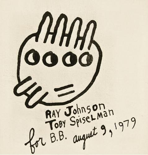 22: Ray JOHNSON (American, 1927 - 1995) Two self-portr
