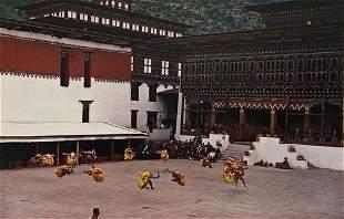 Ernst Haas (1921-1986) Ritual Dance, Coronation Da