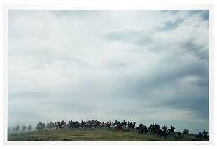 Ernst Haas (1921-1986) Indian Attack, Little Big M